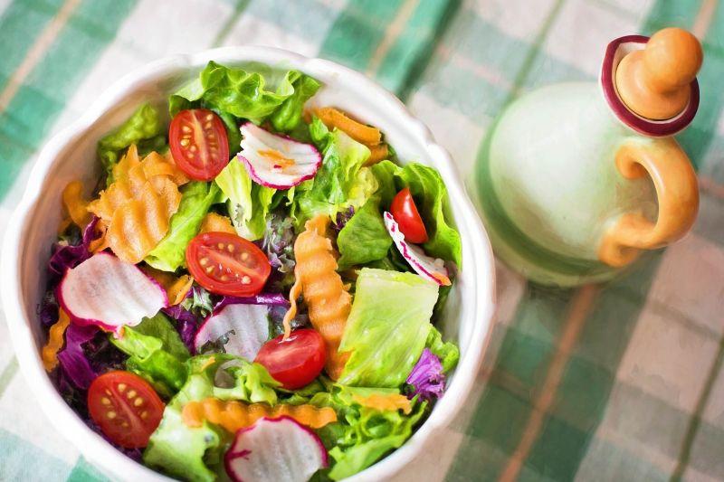野菜の食事