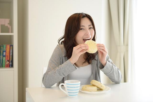 太らない食事の取り方を実践している主婦