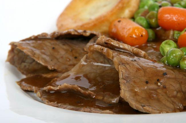 肉のタンパク質