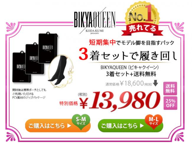 ビキャクイーン3着の価格13980円