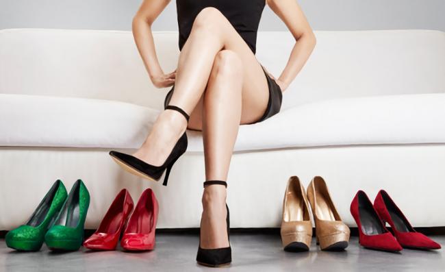 美脚な女性の足